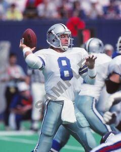 "QB Dallas Cowboys Troy Aikman NFL HOF Football Player 8""x 10"" Photo Poster 8"