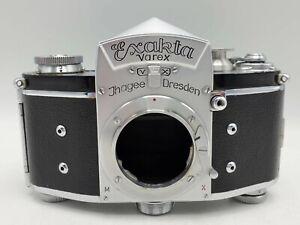 Ihagee Exakta Varex VX 35mm Film SLR Camera Body Only - Chrome