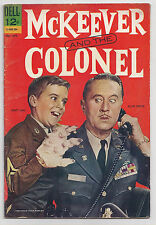McKeever and the Colonel #1  (1963 Dell)   Scott Lane & Allyn Joslyn Photo Cover