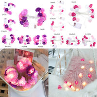 20 LED Romantic Flower Light String Holiday Valentine Wedding Party Decoration