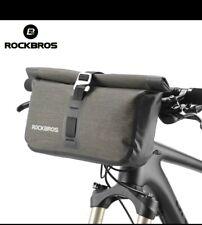 ROCKBROS 5-6L Bicycle Bag Waterproof Front Reflectice Tube Bike Bag MTB Large...