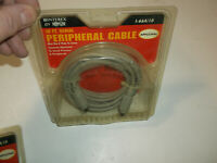 MO197 Interex Cable 10FT Serial Peripheral Cable I-66A/10 Apple/Mac NOS