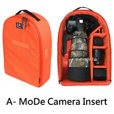 Camera Insert Partition Padded Bag Case for DSLR SLR Lens Large Backpack case