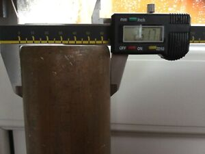 80 Cmx 108 Mm Outside Diameter Copper Pipe. Tube Off Cut