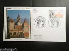 FRANCE 1990, FDC 1° JOUR, ARCHITECTURE CLUNY, timbre 2657, VF COVER