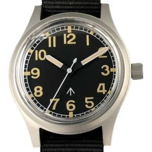 Retro Men's Stainless Steel Pilot Watches NH35 Mov't Automatic Diving Wristwatch