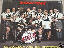 EL BOTTEON Wunderbar LP PRIVATE POLKA GOOFY COVER