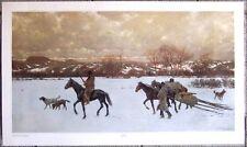 "Nomads by Henry Farny - 37"" X 22"" Western Art Print"