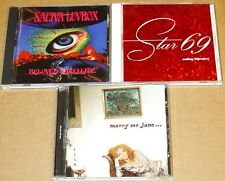 3 CD LOT*MARRY Me JANE~TICK *STAR 69~EATING FEB *SATIVA LUVBOX~Beloved Satellite