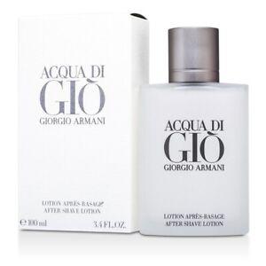 Giorgio Armani Acqua Di Gio After Shave Lotion 100ml Men's Perfume