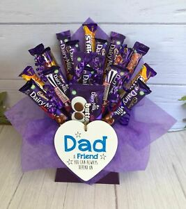 Dad - Friend  Mixed Cadburys Chocolate Bouquet