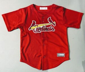 St. Louis Cardinals Youth Child Red Jersey Size 4T