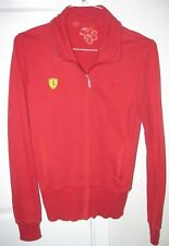 Puma Ferrari Athletic Track Jacket Red Coat Mens Large