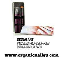 Pinceles ON SIGNAILART SET CON 6 PINCELES PARA MANO ALZADA