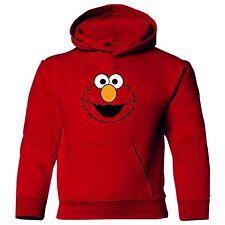 ELMO Sesame Street Adult or Kids unisex long sleeve polycotton hoodie sweatshirt