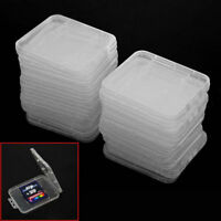 20Pcs Plastic Memory Cards Card Box Case SD SDHC XD MMC CF storage Case