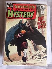 HOUSE OF MYSTERY #195 WRIGHTSON BAT OUT OF HELL! CLASSIC COVER