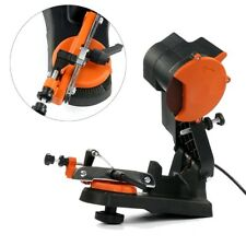 Electric Chain Saw Sharpener Grinder Chainsaw Mount to Bench Wall or Vise