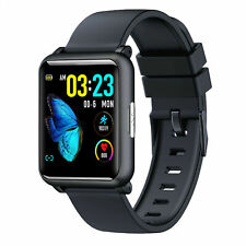 Bluetooth Smart Watch ECG PPG Blood Pressure Heart Rate Monitor for iOS Android