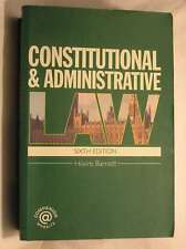 Constitutional & Administrative Law, Hilaire Barnett, Very Good Book