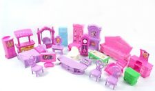 Plastic Furniture Dolls House Family Christmas Xmas Toy Set for Kids Children 3C