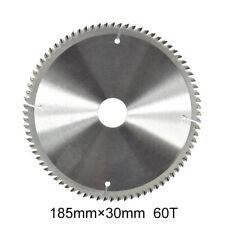 185mm×30mm 60T Teeth Alloy Lame de scie circulaire