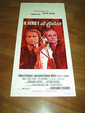 LOCANDINA,1972,Il vero e il falso,TERENCE HILL,Visconti.Balsam,Pitagora,Merli