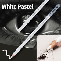 1/4pcs White Pastel Charcoal Drawing Sketch Pencil Art Artist Craft Useful Cool