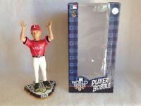 Nelson Cruz Texas Rangers World Series Bobble Arms Bobblehead