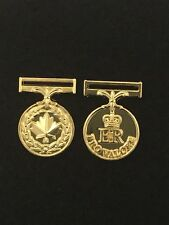 Canadian Medal Of Military Valour Miniature