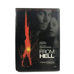 From Hell 2-Disc Set Limited Edition DVD Johnny Depp Region 1