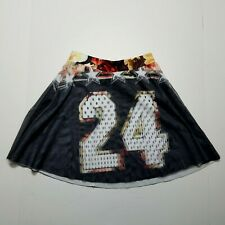 Rue 21 Skirt #24 Size Small Polka Dots Tule Overlay Made In USA Summer Fashion