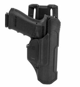 Blackhawk T-Series Holster L2D Glock (RH) 17/19/22/23/31/32/45/47 - 44N100BKR