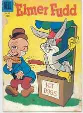 Elmer Fudd Comic Book - Vintage 1956 Dell Warner Bros Cartoon #689 Comic Book