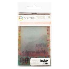 Project Life INSPIRE (12-PK) INSTAX MINI Photo Overlays scrapbooking 380633