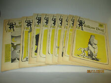 Yellow Dog # 1-12 Komplett Robert Crumb Wilson Shelton 1968 Original US Undergro