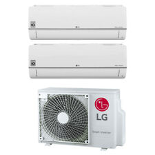 Climatizzatore LG Inverter Dual Split Libero Plus 9+9 9000+9000 Btu R32 WiFi 15