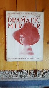 October 11, 1911 New York Dramatic Mirror with Vera Finlay cover