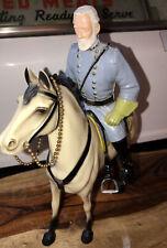 Hartland General Robert E Lee figure rider horse saddle Vintage