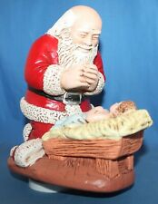 Kneeling Santa Musical Decoration R P Gauer/R Vargas 1976