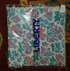 Vintage Liberty hankerchief new in packet paisley pattern ladies unisex floral