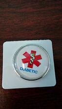 "20mm Snap Button-Snaps-""Medic Alert-Diabetic""-Style #1"