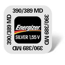 1x Energizer Batería del reloj reloj 390-SR1130SW - Mini Ampolla