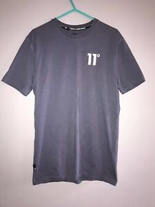 11 Degrees Grey T Shirt Size S
