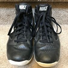 NIKE Flywire Airmax Destiny B'ball Men's Shoes sz 9 U.S. Black/White A24