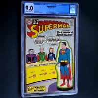 SUPERMAN #147 (DC 1961) 🔥 CGC 9.0 🔥 SCARCE! 1ST LEGION OF SUPER-VILLAINS!
