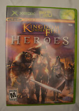 Kingdom Under Fire Heroes Original Microsoft Xbox Complete CIB NTSC 2005