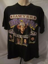 Sawyer Brown Cafe on Corner Autographed Concert Tee 1993 Country T-Shirt  XL I21