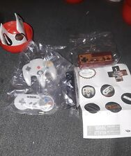 NEW Tomy NINTENDO CONTROLLER 4 out of 5 Collectible Keychain Danglers Rare