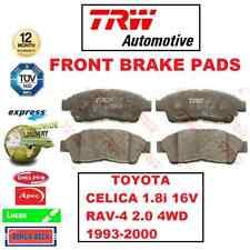 Para Toyota Celica 1.8i 16V RAV4 RAV-4 2.0 4WD 1993-2000 Set Almohadillas Freno